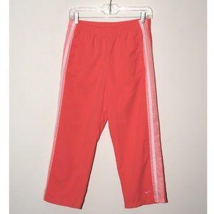 Nike coral pink capris